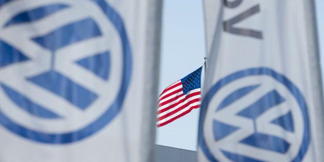 Anledningen till att VW klarar smällen för utsläppsfusket är ironiskt nog biljättens dåliga resultat i USA, skriver Reuters Olaf Storbeck. MIKE BLAKE / TT NYHETSBYRÅN