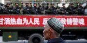 Bild från Xianjiang-regionen.  China Stringer Network / TT NYHETSBYRÅN