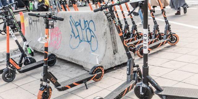 Elsparkcyklar i Stockholm Veronica Johansson/SvD/TT / TT NYHETSBYRÅN