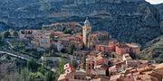 Albarracín ligger cirka tolv mil nordväst om Valencia i östra Spanien. Getty