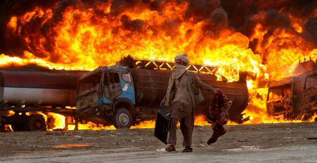 Bild från utkanterna av Kabul 2011. Arkivbild. Dar Yasin / SCANPIX