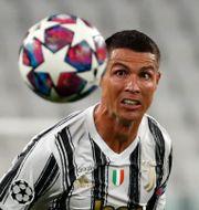 Cristiano Ronaldo.  Antonio Calanni / TT NYHETSBYRÅN