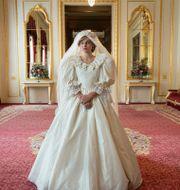"""Emma Corrin som prinsessan Diana i """"the Crown"""" Des Willie / TT NYHETSBYRÅN"""