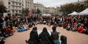 Arkivbild: Demonstration till stöd för kvinnors vittnesmål i Lyon, 2017. Laurent Cipriani / TT NYHETSBYRÅN/ NTB Scanpix