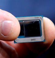 Ett Intel-chip.  Steve Marcus / TT NYHETSBYRÅN