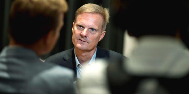 Jens Henriksson.  Pontus Lundahl/TT / TT NYHETSBYRÅN