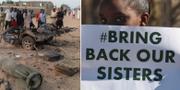 Ett av Boko Harams terrordåd/kampanj för de flickor som terrorgruppen kidnappat. TT