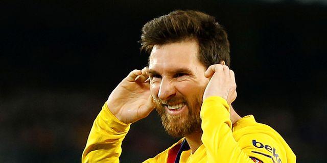 Leo Messi. MARCELO DEL POZO / BILDBYRÅN