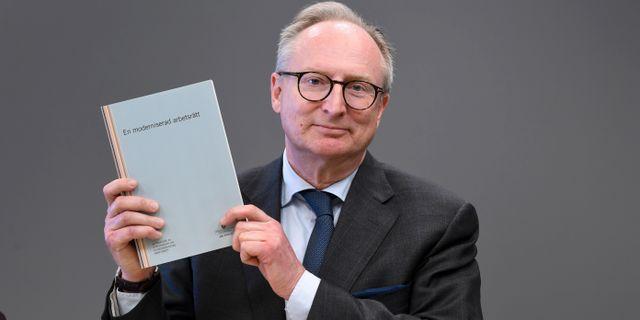 Las-utredaren Gudmund Toijer presenterade sitt förslag på måndagen. Fredrik Sandberg/TT / TT NYHETSBYRÅN