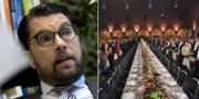 Jimmie Åkesson har inte blivit inbjuden till årets Nobelfest. TT