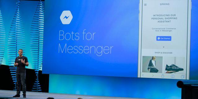 Facebooks blockchain-chef David Marcus  Eric Risberg / TT NYHETSBYRÅN/ NTB Scanpix