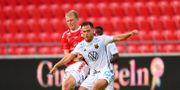 Kalmars Edvin Crona under onsdagens fotbollsmatch i allsvenskan mellan Kalmar FF och Östersunds FK.  Patric Söderström/TT / TT NYHETSBYRÅN