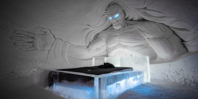 Ett fantastiskt Game of Thrones-inspirerat ishotell har öppnat i finska Lappland. Lapland Hotels Snow Village