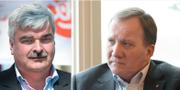 Håkan Juholt och Stefan Löfven. TT
