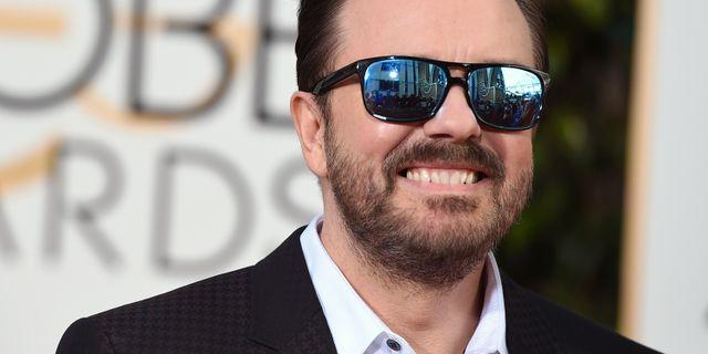 Ricky Gervais. Jordan Strauss / TT NYHETSBYRÅN