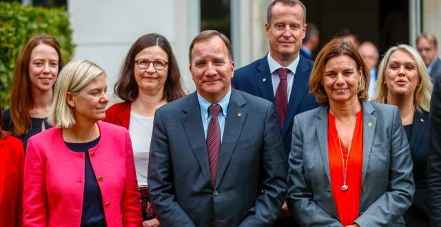 Regeringen i Jönköping tidigare i september. Thomas Johansson/TT / TT NYHETSBYRÅN