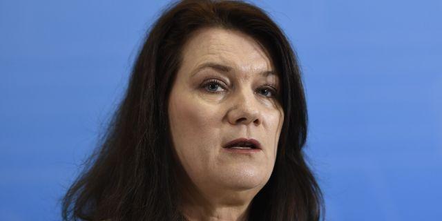 Ann Linde, EU-minister.  Maja Suslin/TT / TT NYHETSBYRÅN