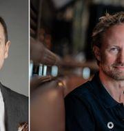 Sverre Linton, Aktiespararna, och Christian Sinding, EQT:s vd. Aktiespararna/TT