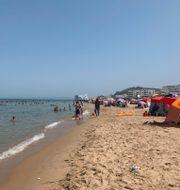 Strand utanför Tunis/Arkivbild Francesca Ebel / TT NYHETSBYRÅN