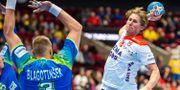 Norges William Aar i matchen mot Slovenien. LUDVIG THUNMAN / BILDBYRÅN