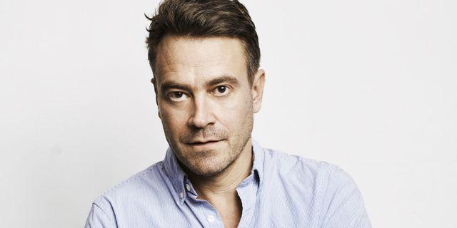Författaren och regissören Daniel Dencik.  Bokförlaget Polaris.