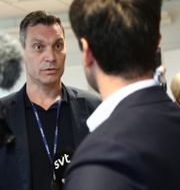 Daniel Axelsson, förundersökningsledare vid polisen i Östergötland. Jeppe Gustafsson/TT / TT NYHETSBYRÅN
