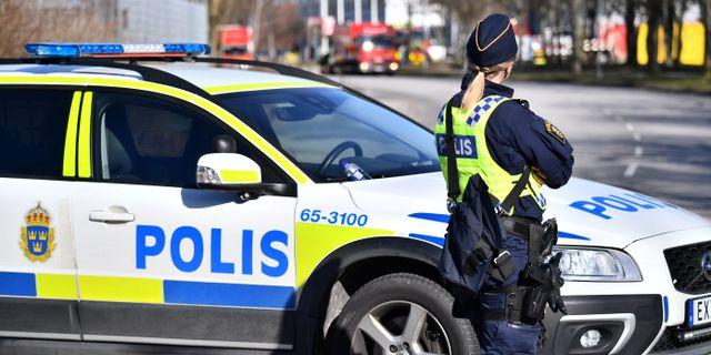 Arkivbild. Polis i Fosie, Malmö. Johan Nilsson/TT / TT NYHETSBYRÅN