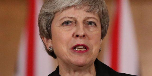 Theresa May. JONATHAN BRADY / POOL