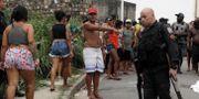 Bild från en brottsplats i Rio idag. Illustrationsbild. Ricardo Moraes / TT NYHETSBYRÅN