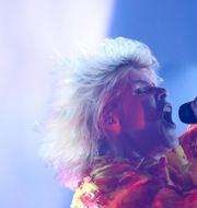 Robyn under konserten på Sjöhistoriska Fredrik Sandberg/TT / TT NYHETSBYRÅN