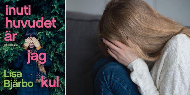 """Omslaget till """"Inuti huvudet är jag kul""""/illustrationsbild. Norstedts/TT"""