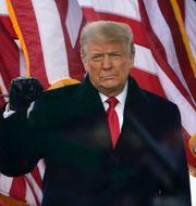 Donald Trump/Stormningen av Kapitolium. TT