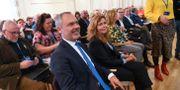 Jan Björklund och Cecilia Wikström på L:s partiråd.  Fredrik Sandberg/TT / TT NYHETSBYRÅN