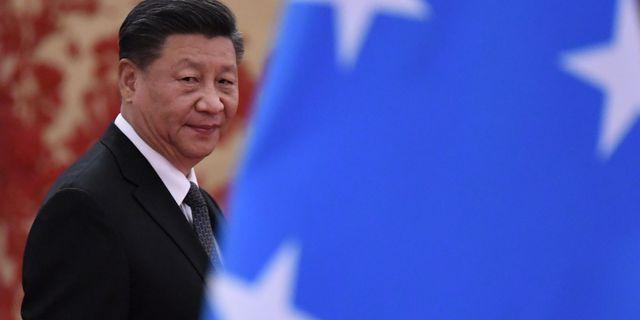 Xi Jinping, arkivbild. NOEL CELIS / AFP