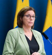 Isabella Lövin (MP).  Amir Nabizadeh/TT / TT NYHETSBYRÅN