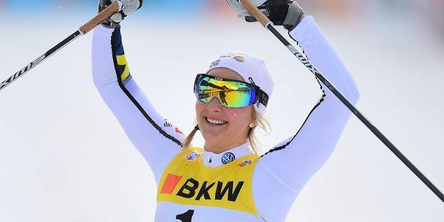 Stina Nilsson. Gian Ehrenzeller / TT NYHETSBYRÅN