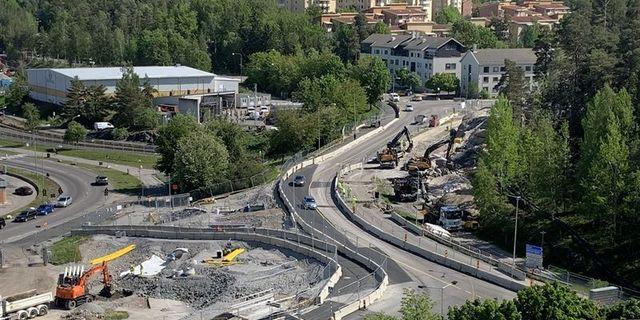 Utbyggnaden i Sundbyberg NCC pressbild