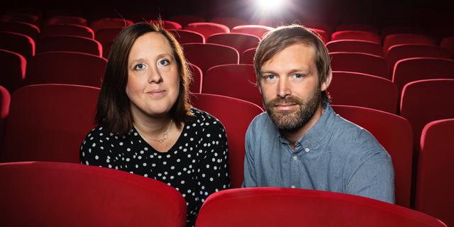Mirja Wester, Göteborgs filmfestivals vd, och Jonas Holmberg, konstnärlig ledare. Göteborgs filmfestival
