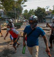 Demonstrationerna fortsätter i Myanmar TT NYHETSBYRÅN