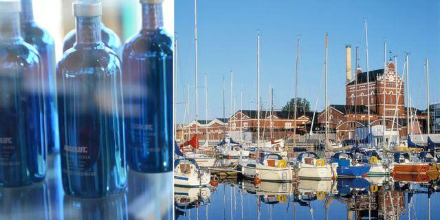 Absolut Vodkas nya museum ligger i fabrikslokalerna i hamnen i skånska Åhus. Mattias Roos / pressbild