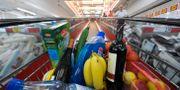 Tysk livsmedelsbutik.  Matthias Rietschel / TT NYHETSBYRÅN