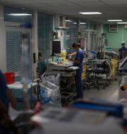 Sjukhus i Marseille, 10 september. Daniel Cole / TT NYHETSBYRÅN