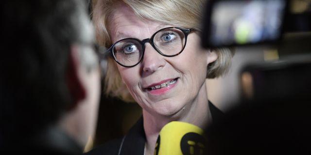Elisabeth Svantesson (M). Stina Stjernkvist/TT / TT NYHETSBYRÅN