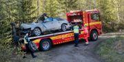 Kraschen skedde utanför Sundsvall. Mats Andersson / TT / TT NYHETSBYRÅN