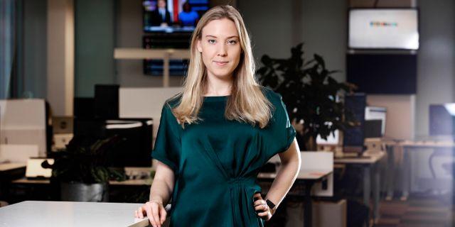 Helen Broman.  Magnus Sandberg