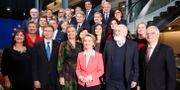 Den nya EU-kommissionen.  Jean-Francois Badias / TT NYHETSBYRÅN