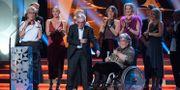 """Filip Hammars familj tog emot priset för """"Tårtgeneralen"""" Anders Wiklund / TT NYHETSBYRÅN"""