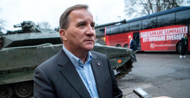 Statsminister Stefan Löfven  Johan Nilsson/TT / TT NYHETSBYRÅN