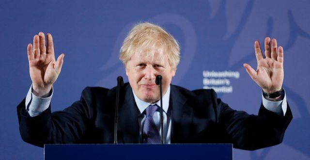 Boris Johnson  POOL New / TT NYHETSBYRÅN