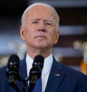 USA:s president Joe Biden.  Evan Vucci / TT NYHETSBYRÅN